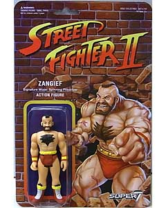 SUPER 7 REACTION FIGURES 3.75インチアクションフィギュア STREET FIGHTER II ZANGIEF