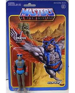 SUPER 7 REACTION FIGURES 3.75インチアクションフィギュア MASTERS OF THE UNIVERSE WAVE 3 STRATOS