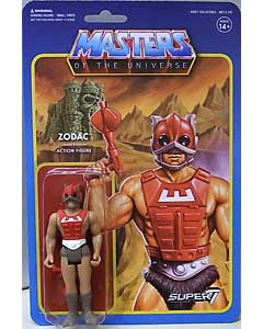 SUPER 7 REACTION FIGURES 3.75インチアクションフィギュア MASTERS OF THE UNIVERSE WAVE 3 ZODAC