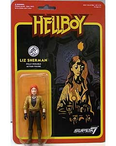 SUPER 7 REACTION FIGURES 3.75インチアクションフィギュア HELLBOY LIZ SHERMAN