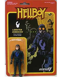 SUPER 7 REACTION FIGURES 3.75インチアクションフィギュア HELLBOY LOBSTER JOHNSON