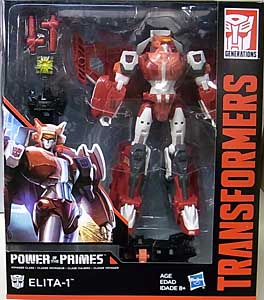 HASBRO TRANSFORMERS GENERATIONS POWER OF THE PRIMES VOYAGER CLASS ELITA-1