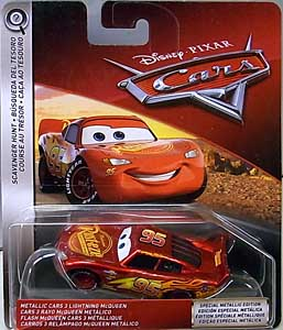 MATTEL CARS 2018 シングル METALLIC CARS 3 LIGHTNING McQUEEN 台紙傷み特価