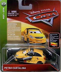 MATTEL CARS 2018 シングル PETRO CARTALINA [BONUS COLLECTOR CARD]