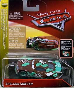 MATTEL CARS 2018 シングル SHELDON SHIFTER [BONUS COLLECTOR CARD]