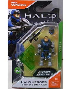 MEGA CONSTRUX HALO HEROES SERIES 7 SPARTAN CARTER-A259 台紙破れ特価