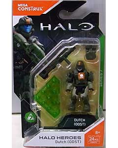 MEGA CONSTRUX HALO HEROES SERIES 7 DUTCH [ODST] 台紙破れ特価