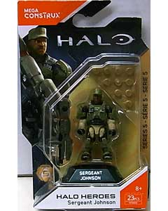 MEGA CONSTRUX HALO HEROES SERIES 5 SERGENT JOHNSON
