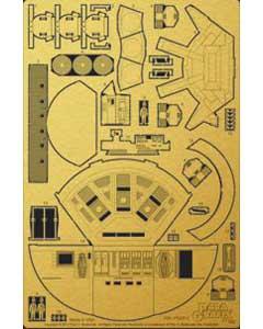 PARAGRAFIX メビウスモデル 1/144スケール 2001年宇宙の旅 ディスカバリー号 XD-1用 エッチングパーツ / PGX211 [POD BAY]