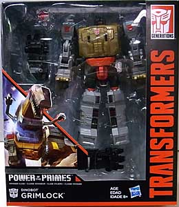 HASBRO TRANSFORMERS GENERATIONS POWER OF THE PRIMES VOYAGER CLASS DINOBOT GRIMLOCK