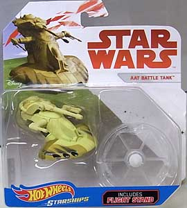 MATTEL HOT WHEELS STAR WARS DIE-CAST VEHICLE AAT BATTLE TANK