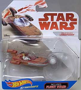 MATTEL HOT WHEELS STAR WARS DIE-CAST VEHICLE LUKE SKYWALKER'S LANDSPEEDER