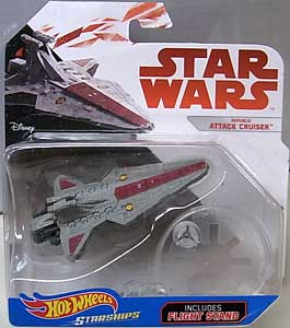MATTEL HOT WHEELS STAR WARS DIE-CAST VEHICLE REPUBLIC ATTACK CRUISER