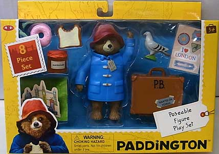 その他・海外メーカー 映画版 PADDINGTON POSEABLE FIGURE PLAY SET