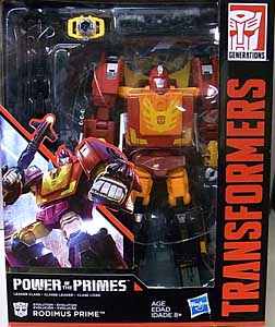 HASBRO TRANSFORMERS GENERATIONS POWER OF THE PRIMES LEADER CLASS RODIMUS PRIME