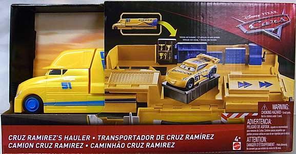 MATTEL CARS 2018 PLAYSET CRUZ RAMIREZ'S HAULER パッケージ傷み特価