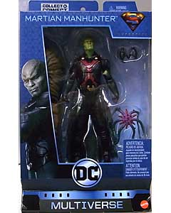 MATTEL DC COMICS MULTIVERSE 6インチアクションフィギュア SUPERGIRL TV SERIES MARTIAN MANHUNTER [CLAYFACE SERIES]