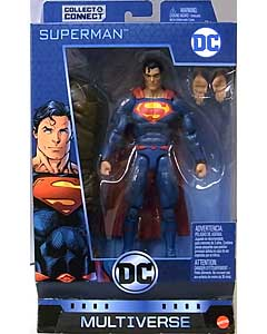 MATTEL DC COMICS MULTIVERSE 6インチアクションフィギュア DC REBIRTH SUPERMAN [CLAYFACE SERIES]