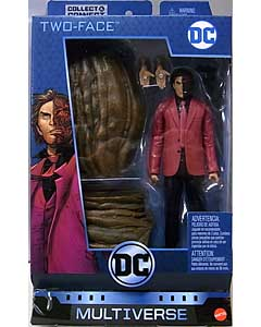 MATTEL DC COMICS MULTIVERSE 6インチアクションフィギュア ALL-STAR BATMAN TWO-FACE [CLAYFACE SERIES] パッケージ傷み特価