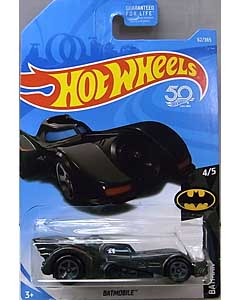 MATTEL HOT WHEELS 1/64スケール 2018 BATMAN BATMAN 1989 BATMOBILE #62