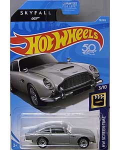 MATTEL HOT WHEELS 1/64スケール 2018 HW SCREEN TIME 007 SKYFALL ASTON MARTIN 1963 DB5 #78