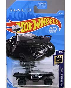MATTEL HOT WHEELS 1/64スケール 2018 HW SCREEN TIME HALO ONI WARTHOG #54