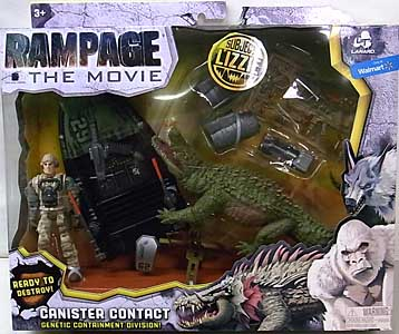 LANARD TOYS RAMPAGE THE MOVIE CANISTER CONTACT LIZZIE