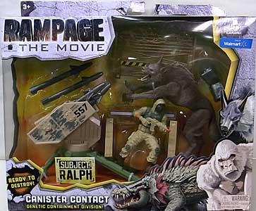 LANARD TOYS RAMPAGE THE MOVIE CANISTER CONTACT RALPH