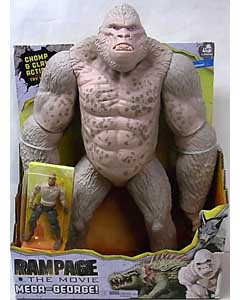 LANARD TOYS RAMPAGE THE MOVIE MEGA GEORGE 塗装傷み特価