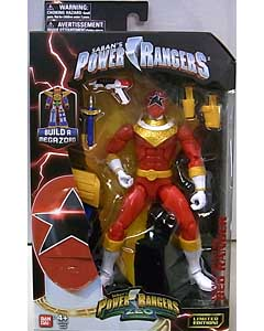 USA BANDAI POWER RANGERS LEGACY COLLECTION 6インチアクションフィギュア ZEO RED RANGER