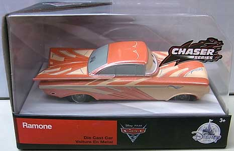 CARS 3 USAディズニーストア限定 ダイキャストミニカー CHASER SERIES RAMONE