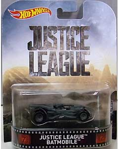MATTEL HOT WHEELS 1/64スケール 2017 RETRO ENTERTAINMENT JUSTICE LEAGUE BATMOBILE
