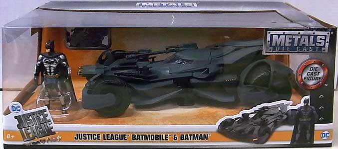 JADA TOYS METALS DIE CAST 1/24スケール JUSTICE LEAGUE BATMOBILE & BATMAN