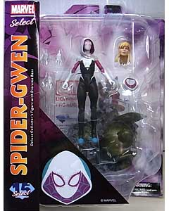 DIAMOND SELECT MARVEL SELECT SPIDER-GWEN パッケージ傷み特価