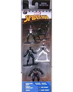 JADA TOYS MARVEL NANO METALFIGS SPIDER-MAN 5PACK [PACK B]