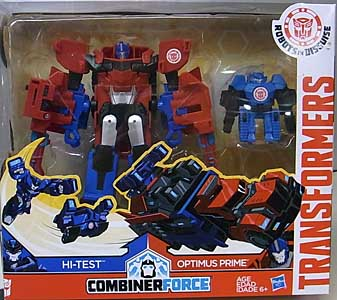 HASBRO アニメ版 TRANSFORMERS ROBOTS IN DISGUISE COMBINER FORCE ACTIVATOR COMBINERS OPTIMUS PRIME & HI-TEST
