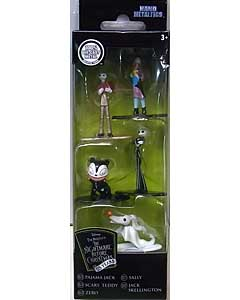 JADA TOYS NANO METALFIGS THE NIGHTMARE BEFORE CHRISTMAS 5PACK