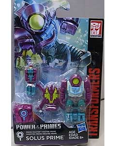 HASBRO TRANSFORMERS GENERATIONS POWER OF THE PRIMES PRIME MASTER SOLUS PRIME