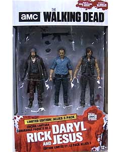 McFARLANE TOYS THE WALKING DEAD TV 5インチアクションフィギュア ALLIES 3PACK