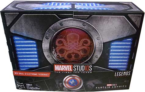2018年 サンディエゴ・コミコン限定 HASBRO MARVEL STUDIOS: THE FIRST TEN YEARS RED SKULL & ELECTRONIC TESSERACT