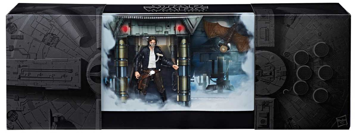 2018年 サンディエゴ・コミコン限定 HASBRO STAR WARS THE BLACK SERIES HAN SOLO WITH MYNOCK