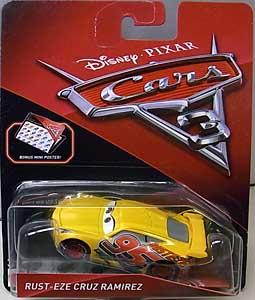 MATTEL CARS 3 シングル RUST-EZE CRUZ RAMIREZ