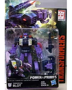 HASBRO TRANSFORMERS GENERATIONS POWER OF THE PRIMES DELUXE CLASS TERRORCON BLOT 台紙傷み特価