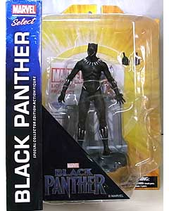 DIAMOND SELECT MARVEL SELECT 映画版 BLACK PANTHER BLACK PANTHER パッケージ傷み特価