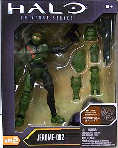 MATTEL HALO 6インチアクションフィギュア UNIVERSE SERIES WAVE 2 JEROME-092 [IMPERIAL GRUNT SERIES]