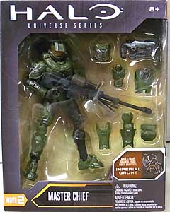 MATTEL HALO 6インチアクションフィギュア UNIVERSE SERIES WAVE 2 MASTER CHIEF [IMPERIAL GRUNT SERIES]