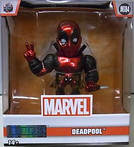 JADA TOYS METALS DIE CAST 4インチフィギュア DEADPOOL DEADPOOL [METALLIC COLOR]