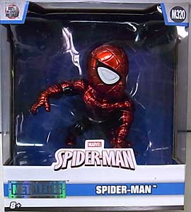 JADA TOYS SPIDER-MAN METALS DIE CAST 4インチフィギュア SPIDER-MAN [METALLIC COLOR]