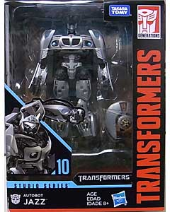 HASBRO TRANSFORMERS STUDIO SERIES DELUXE CLASS AUTOBOT JAZZ #10