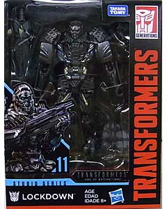 HASBRO TRANSFORMERS STUDIO SERIES DELUXE CLASS LOCKDOWN #11